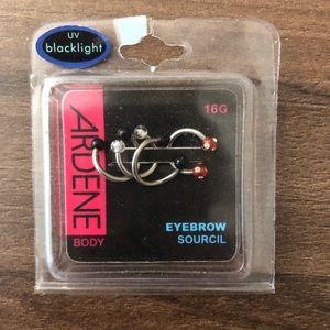 🔥FREE W/ Purchase   Eyebrow&Lip Jewelry Piercing